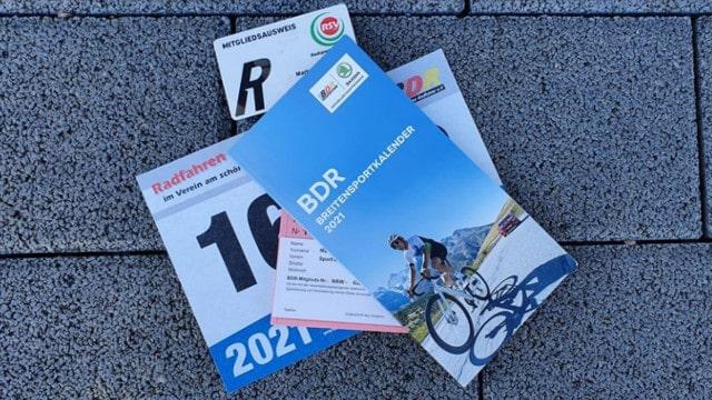 Veranstaltungskalender vom Bund Deutscher Radfahrer für das Jahr 2021