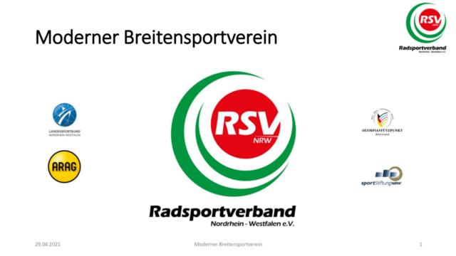 Logo Radsportverband NRW inklusive Sponsoren